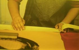 Fix Silk Edging to wall scroll