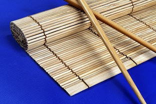 Chinese bamboo plant mat product